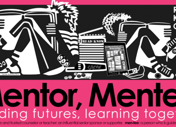 Be a Mentor or Mentee! (Apply now)