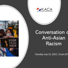 Invitation to Conversation on Anti-Asian Racism